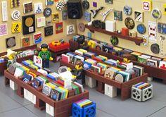 lego record store - Google Search