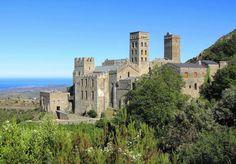Monasterio benedictino de San Pedro de Roda - Sant Pere de Rodes, Port de la Selva (Girona)