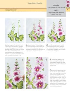 Donna Dewberrys Essential Guide to Flower and Landscape Painting: 50 Decorative and One-Stroke Painting Projects