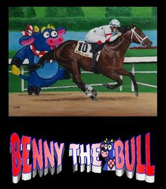 Benny The Bull The owner's young daughter named him after the character in Dora the Explorer