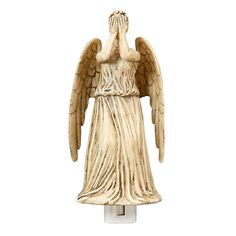Why?! Why would someone make this?! What sick person thought it'd be a good idea to make a weeping angel a nightlight! I'd never ever sleep AGAIN!