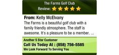 The Farms is a beautiful golf club with a family friendly atmosphere. The staff is...