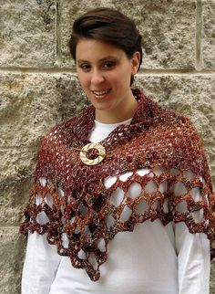 Ravelry: Whitsunday Butterfly Crochet Shawl pattern by Nancy Nagle