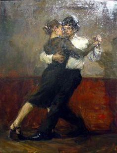Two to Tango by Ron Hicks Tango Art, Hispanic Art, Art Of Love, Argentine Tango, Shall We Dance, Drawing Sketches, Drawings, Texture Art, Art Music