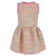 Milly Minis | Neon Tweed Prom Dress | http://www.alexandalexa.com/milly-minis-tweed-prom-dress-neon