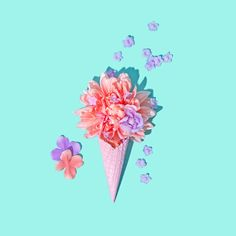 IG Peach Lavender Floral Cone 1D.jpg