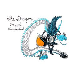 Happy Halloween! Sketch of the day no 771 in my monologue art journal: The Dragon. I'm just misunderstood.