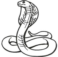 Cobra Machine Embroidery Design Instantly Download