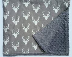 Free Personalization* minky baby blanket, baby shower gift, nursery decor, personalized lovie