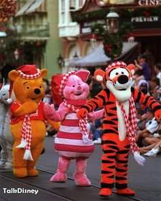 Pooh and Friends - Disney Christmas Parade....