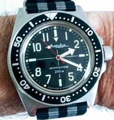 Modded Vostok Amphibia Best Looking Watches, Vostok Watch, 200m, Seiko, How To Look Better, Accessories