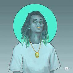 #fanart #lilgnar #rapper #illustration #art #digitalart #aesthetic #style #characterdesign Rapper, Hip Hop, Digital Art, Character Design, Fan Art, Content, Illustration, Style, Swag