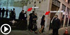 NIGERIAN TOP SECRET: Photo: Chris Brown & Karrueche Tran spotted leavin...