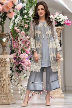 Firdous Luxury Ready To Wear Women Dresses 2020 - Stylespk Pakistani Fashion Party Wear, Pakistani Party Wear Dresses, Pakistani Dress Design, Pakistani Outfits, Indian Designer Outfits, Designer Dresses, Saris, Stylish Dresses For Girls, Stylish Dress Book