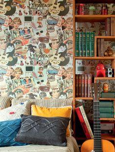 decoração parede sala                                                       …