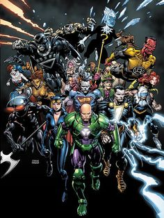 DC Villain Month, FOREVER EVIL Crossover Mini-Series Coming in September | Newsarama.com