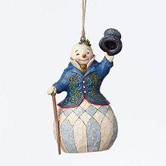 Enesco Jim Shore Victorian Snowman Ornament