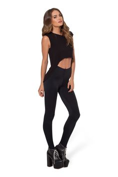 The Awesome High Waisted Leggings by Black Milk Clothing $45AUD
