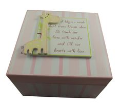 These memory boxes are so sweet and are perfect newborn or Christening gifts £14.99