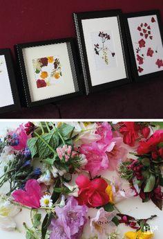 ET VOILÁ! Nach einigen Basteleinheiten ist eine Blumenpracht zum Hinhängen entstanden.