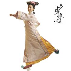 Chinese Folk Dance Costume Dress Flower Fairy Cos Hanfu Tang Princess Royal Stage Costumes Yellow Bright And Translucent In Appearance Stage & Dance Wear