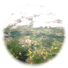 german landscape from above