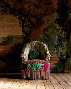 Dishfunctional Designs: The Bohemian Chair - Vintage Bohemian Home Bohemian Interior, Bohemian Decor, Interior Bohemio, Deco Boheme, Boho Home, Decoration Inspiration, Design Inspiration, Ideias Diy, Pip Studio