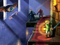 The Legend of Zelda: A Link Between Worlds WP by moonlightkisu