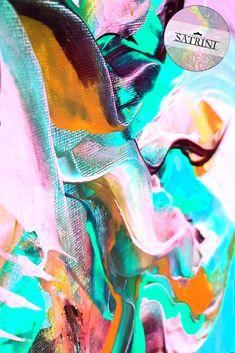 30 x 30 cm   Acrylic color on canvas   Spatula art technique   Floral Horizon Collection   Abstract Art • Follow @bysatrini for more unique art! :) Art Techniques, Abstract Art, Photo And Video, Unique, Floral, Artwork, Color, Collection, Instagram