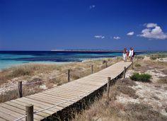 Playa de Mitjorn, Formentera, Spain