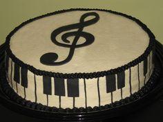 piano christmas recital cakes - Google Search