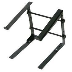 Laptop Computer Stand For DJ With Flat Bottom Legs
