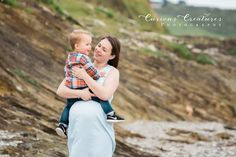 Gorgeous pregnant mum with her toddler on the beach. Cornwall beach family and baby photographer. Family and bump photography Cornwall. Baby Family, Children And Family, Newborn Baby Photography, Maternity Photography, Roseland Peninsula, Cornwall Beaches, Outdoor Family Photography, Baby Photographer, Babies First Year