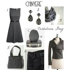 8f380c242093 How to wear the Pantone colors of the season  Mykonos Blue and Turbulence  Grey