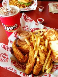 HAVE ANYONE EVER BEEN TO RAISING CANES??? If you haven't you'll love it.