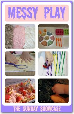 These messy play activities are so much FUN - they will keep the kids entertained for hours!