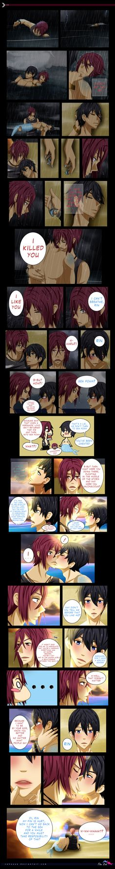 RinHaru: A Mermaid Tale 24 - THE END by Zakuuya.deviantart.com on @DeviantArt