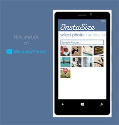 Instasize app is great for changing sizes of photos - useful for iPhone wallpaper and other tasks