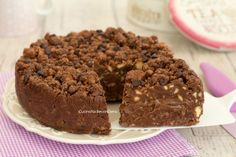 Torta cookie fredda senza cottura