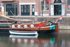 Boats in Delfshaven, Rotterdam