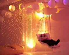 Luminous Snoezelen room.