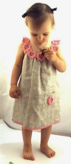 Ideias de Costura - Usar o crochet na costura ~ LOJA SINGER PORTO