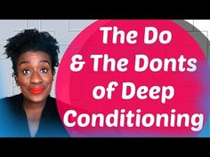 Best Method to Deep Condition Natural Hair for Longer 4c, 4b, 4a Hair Tutorial - YouTube