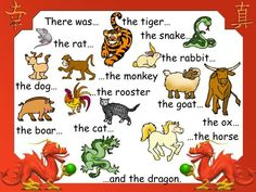 Story of the Chinese Zodiac for Chinese New Year Chinese New Year Crafts For Kids, Chinese New Year Activities, Chinese Crafts, New Years Activities, Toddler Activities, Chinese Art, Chinese Theme, English Activities, Chinese Calendar