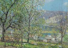Spring at Point Pleasant - Edward Willis Redfield