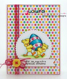 Roberto's Rascals Easter Funnies, C.C. Cutters Scalloped Circles Layering Dies