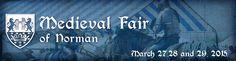 Medieval Fair - Annual Event in Norman, Oklahoma. http://www.medievalfair.org/