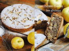 Orzechowe ciasto bez glutenu Banana Bread, Food To Make, Gluten Free, Cooking Recipes, Cakes, Glutenfree, Cake Makers, Chef Recipes, Kuchen