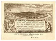 R. López de Heredia Viña Tondonia, S.A. Spanish Wine, Vintage Images, Wines, Vintage World Maps, Spain, Painting, Inspiration, Art, Wine Cellars