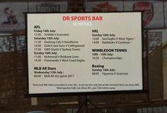 #AFL #NRL #MLBAllStars #WIMBLEDONTENNIS and #Boxing at DR Sports Bar... www.diningroomcandidasa.com  #bali #sportsbar #candidasa #sportsfans